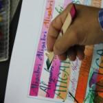 caligrafia deletras