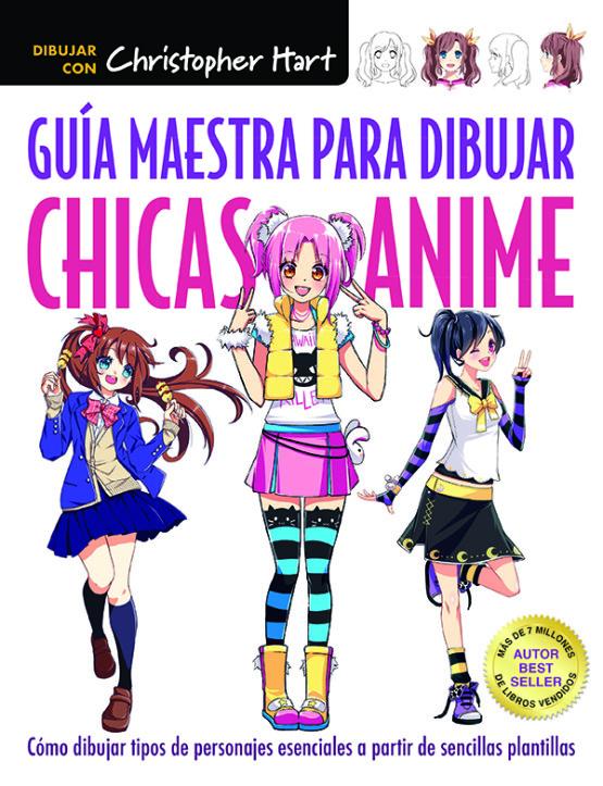 CUBIERTA GUIA MAESTRA DIBUJAR CHICAS ANIME.indd